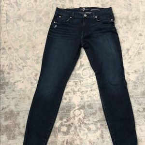 NWOT 7 for All Mankind Gwenevere Skinny Ankle Jean